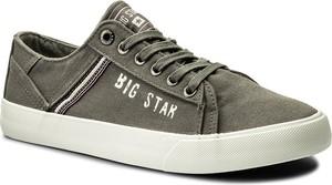 Tenisówki big star - aa174316 grey