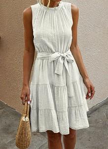 Sukienka Arilook bez rękawów w stylu casual mini