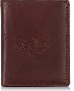 05ebfa0a0626f Brązowe portfele męskie, kolekcja wiosna 2019