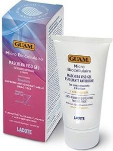 Guam - Lacote Micro biocellulaire Maschera Viso Gel Esfoliante Antirughe - Złuszczająca maska żelowa - op. 75ml
