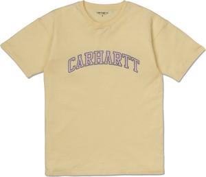 T-shirt Carhartt WIP z okrągłym dekoltem z krótkim rękawem