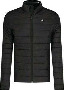 Czarna kurtka Calvin Klein krótka w stylu casual