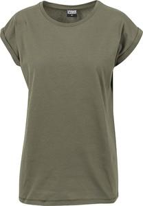 Zielony t-shirt Emp z bawełny