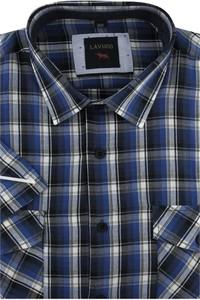 Koszula Laviino w stylu casual z tkaniny z długim rękawem
