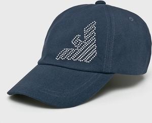 Niebieska czapka EA7 Emporio Armani