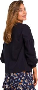 Bluzka Style z bawełny z długim rękawem