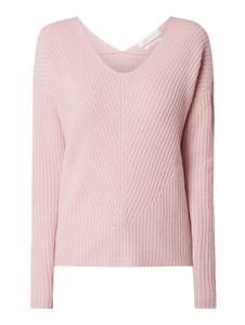 Różowy sweter Joseph Janard w stylu casual z wełny