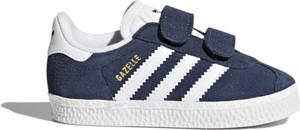 Trampki dziecięce Adidas z zamszu