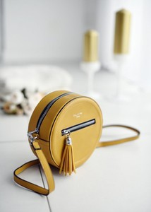 Żółta torebka Fason mała