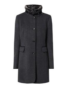 Granatowy płaszcz Gil Bret z wełny w stylu casual