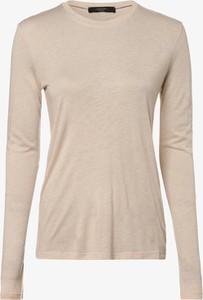 T-shirt Weekend Max Mara w stylu casual z okrągłym dekoltem z wełny