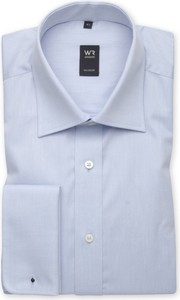 Niebieska koszula Willsoor z długim rękawem