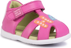 Różowe buty dziecięce letnie Agatha Ruiz de la Prada na rzepy