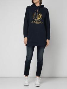 Granatowa bluza Tommy Hilfiger z bawełny w młodzieżowym stylu