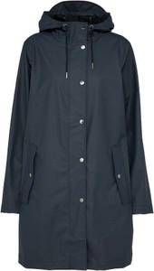 Czarny płaszcz samsøe & samsøe