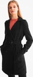Czarny płaszcz CLOCKHOUSE