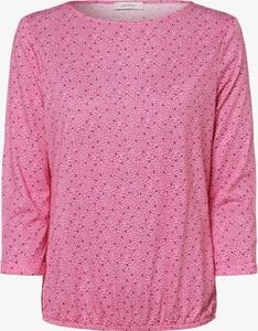 Różowa bluzka Apriori z dekoltem w łódkę w stylu casual