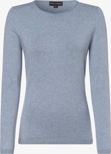 Niebieski sweter Franco Callegari z kaszmiru