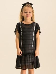 Czarna sukienka dziewczęca Primigi