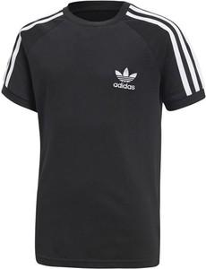 Czarna koszulka dziecięca ctxsport z krótkim rękawem