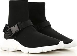 Czarne buty sportowe Prada