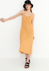 Sukienka House midi w stylu casual