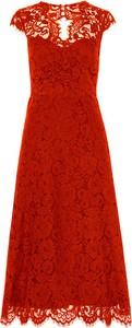 Czerwona sukienka Ivy & Oak midi