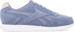 Buty sportowe Reebok w street stylu z zamszu sznurowane