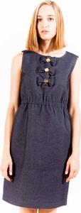 Sukienka Love Moschino w stylu casual bez rękawów