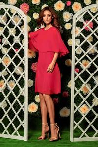 Różowa sukienka Lemoniade z krótkim rękawem mini