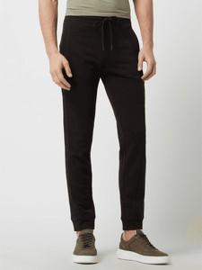 Czarne spodnie Aeronautica Militare