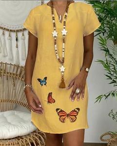 Sukienka Kendallme z dekoltem w kształcie litery v w stylu casual mini