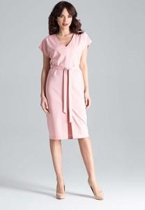 0d0316c097c59 różowa sukienka na wesele jakie dodatki - stylowo i modnie z Allani