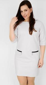 Sukienka Zaps Collection ze skóry mini
