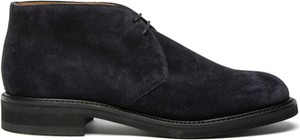 Granatowe buty zimowe Berwick w stylu casual