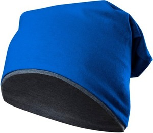 Niebieska czapka Rennwear z bawełny