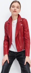 Czerwona kurtka Mohito w stylu casual