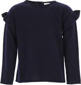 Niebieski sweter Il Gufo z wełny