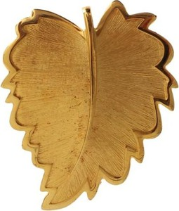 Dolce & Gabbana Leaf Brooch
