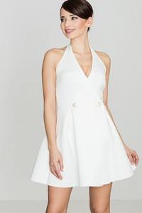 Sukienka LENITIF z dekoltem w kształcie litery v bez rękawów