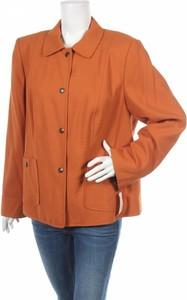 Pomarańczowa kurtka Dressbarn krótka