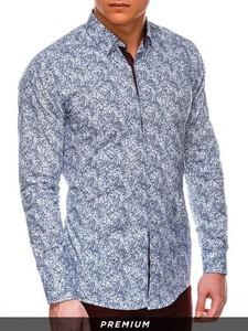 Niebieska koszula Ombre