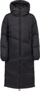 Czarny płaszcz Goldbergh z tkaniny