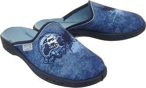 Niebieskie kapcie Befado
