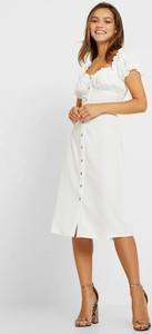 Sukienka Glamorous midi z krótkim rękawem