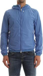 Niebieska kurtka AT.P.CO z bawełny