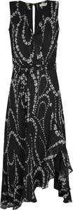 Sukienka Marella z dekoltem w kształcie litery v bez rękawów maxi