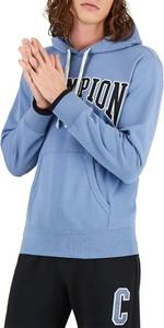 Niebieska bluza Champion z bawełny
