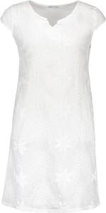 Sukienka - z dekoltem w kształcie litery v trapezowa