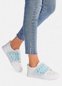 Deezee biało niebieskie buty sportowe lissa